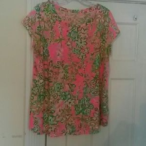 Lilly Pulitzer short sleeved knit top